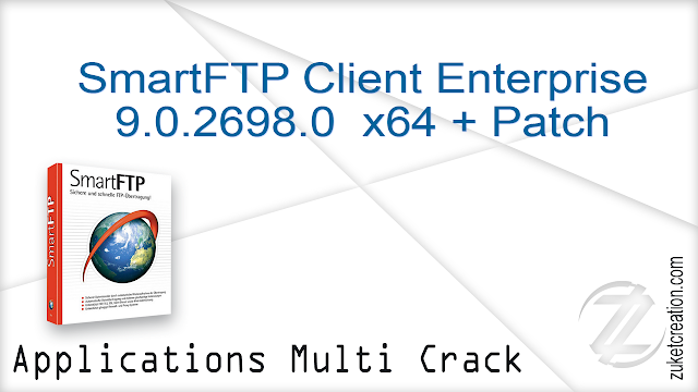 SmartFTP Client Enterprise 9.0.2698.0  x64 + Patch