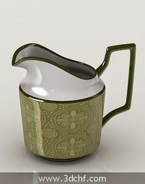 milk jug 3d model