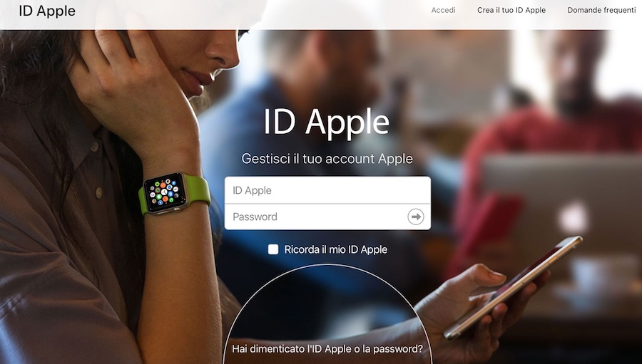come vedere e-mail associata all'ID Apple