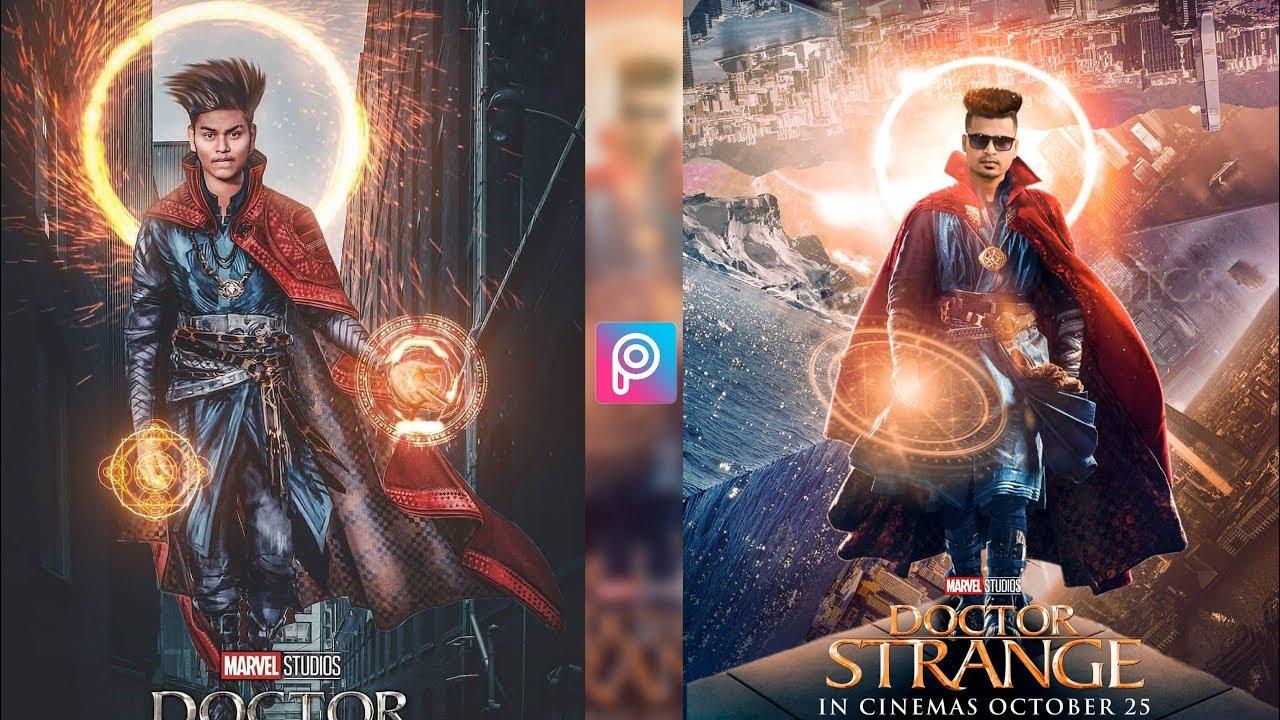 Doctor Strange Movie Poster Background Png Download for