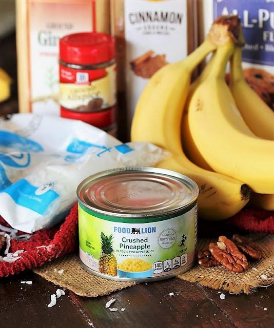 Hummingbird Banana Bread Ingredients Image