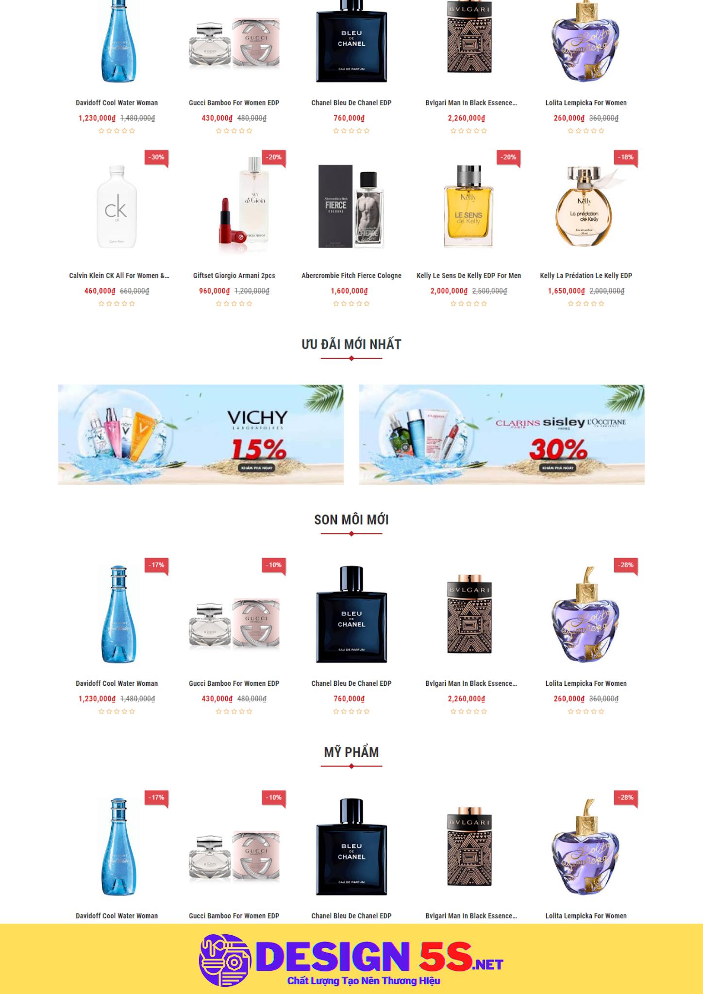Theme blogspot bán mỹ phẩm halu, VSM22 - Ảnh 2