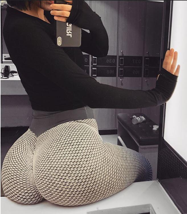 bum enhancing gym leggings