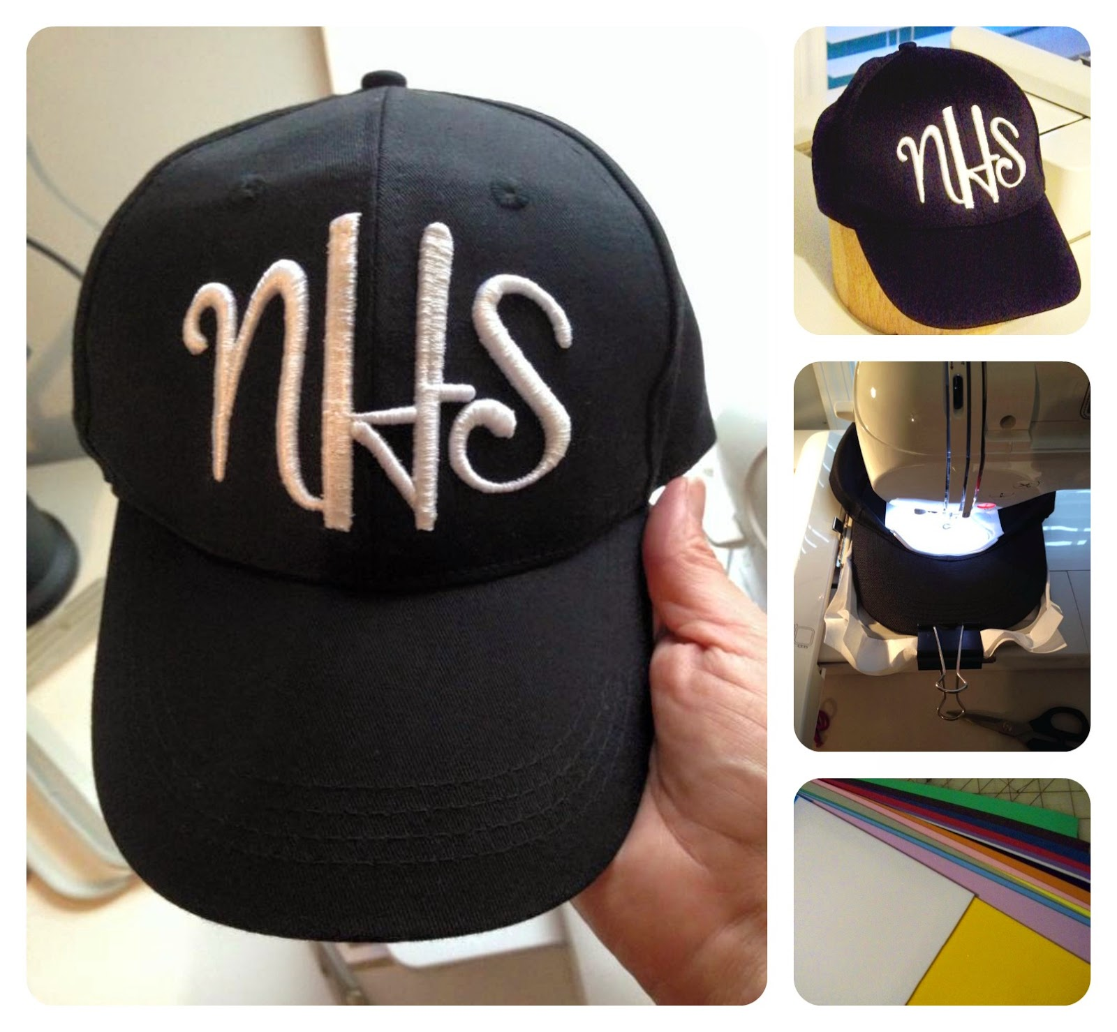 April 25  How To Embroider On A Ball Cap And How To Use Embroidery Foam