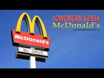 Lowongan Kerja McDonalds Malang