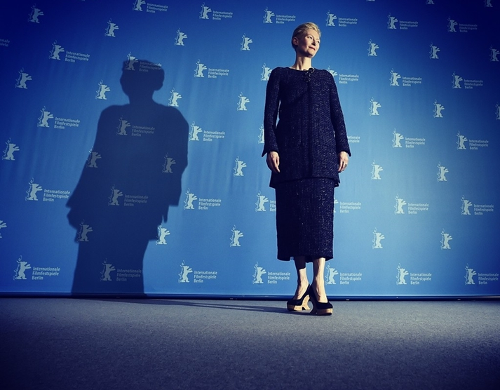 Tilda Swinton en la Berlinale