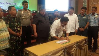 """Silahturahmi Gubernur Dan FKPD Provinsi KEPRI : """"Masyarakat Diharap Menjaga Persatuan & Kesatuan"""""""