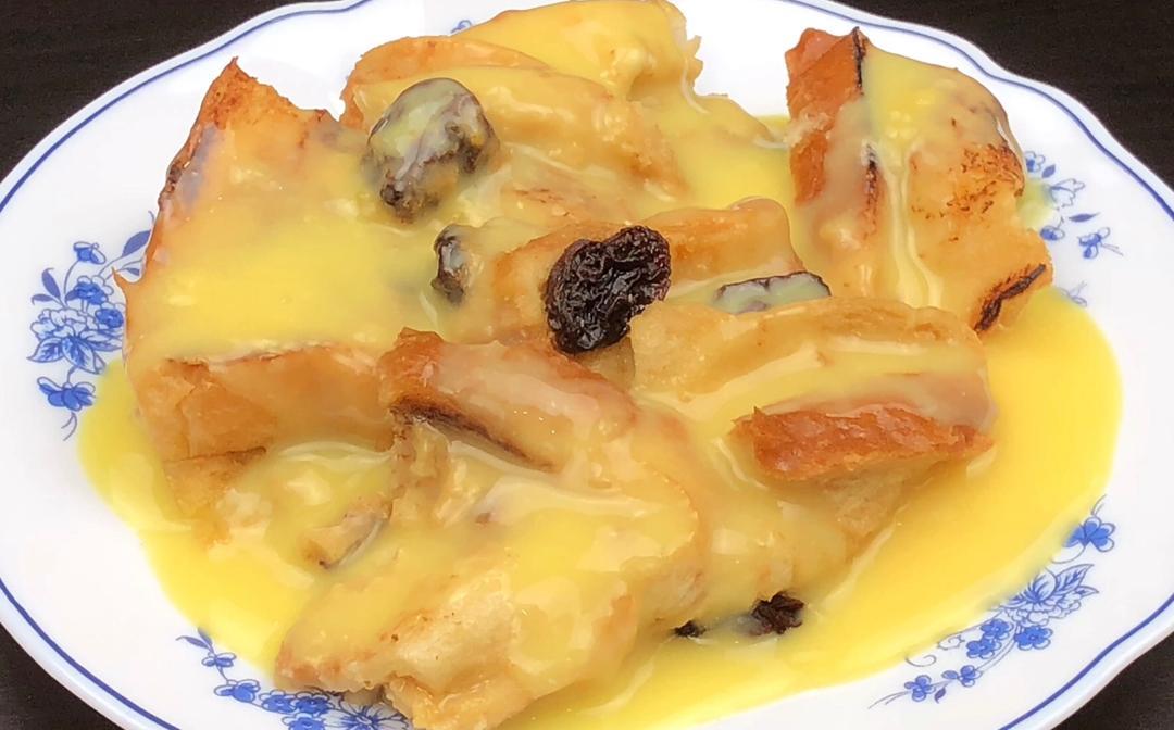 resepi puding roti moh kite Resepi Puding Roti Air Fryer Enak dan Mudah