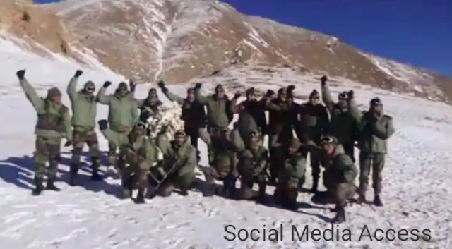 Indian Army's challenging response to China; Took out the blacktop.