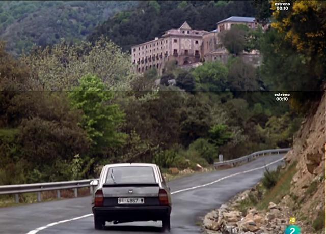 La voz de su amo (2001), escena en Valvanera — Vista panorámica del entorno