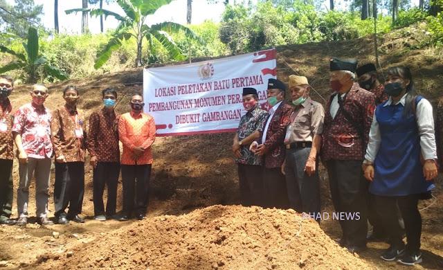 DANLANAL dan FORKOMPINDA Pemalang Hadiri Peletakan Batu Pertama Monumen Gunung Gambangan Moga