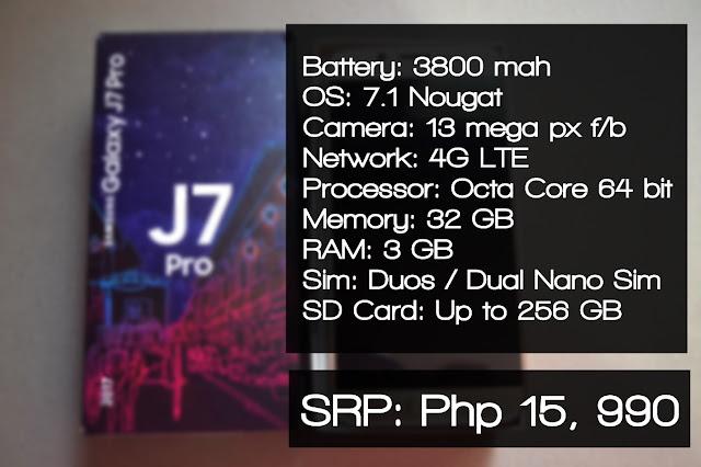 samsung galaxy j7 pro philippines specs