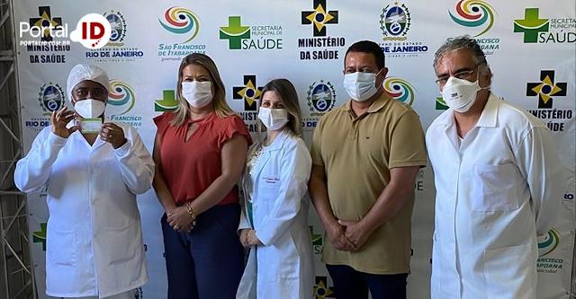 Vereador Alexandre Barrão participa da inauguração do
