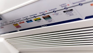 Air conditioner with filter (Indicative Image)