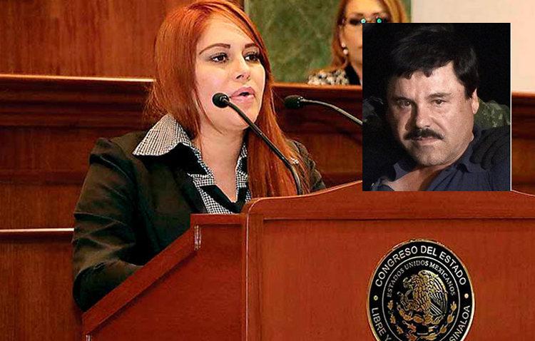 Detienen a ex diputada vinculada con 'El Chapo' Guzmán