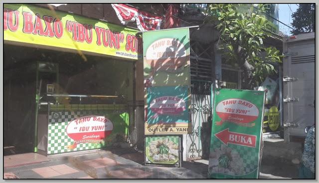 Kuliner Surabaya Yang Patut Dicoba – Nikmatnya Tahu Baxo Ibu Yuni