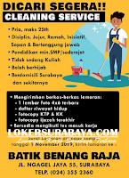 Tantangan Kerja Surabaya Terbaru di Batik Benang Raja Oktober 2019