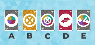 Which of these cards does not belong to the game?