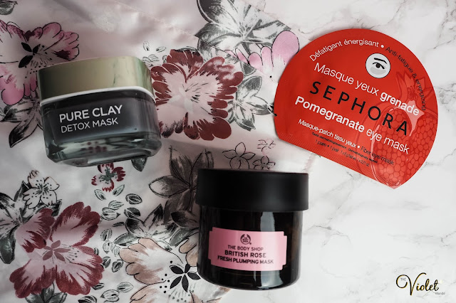 pamper routine masks