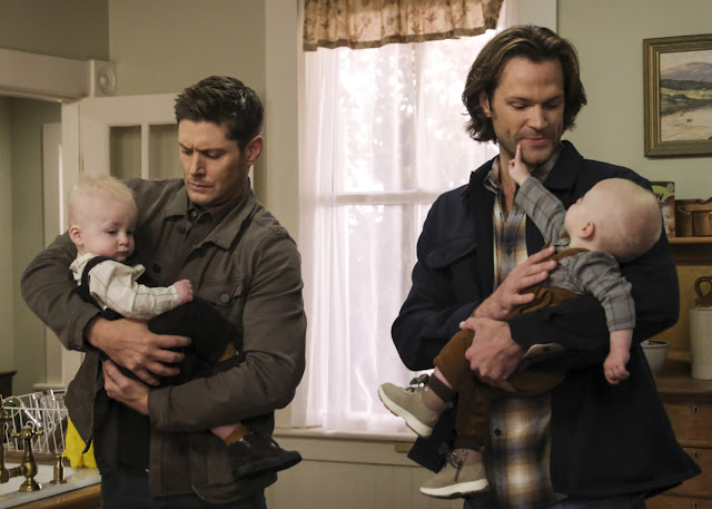 "Supernatural Season 15 Episode 10 Spoilers Photos & Press Release ""The Heroes' Journey"" 1/2"