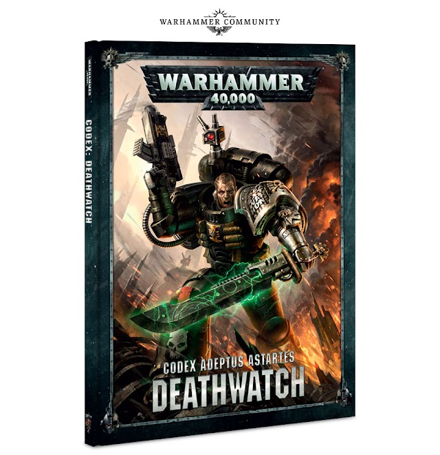 Next Weekend: Deathwatch Codex + Leviadon + Warhammer Legend Releases