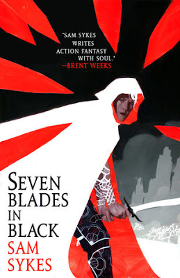 Seven Blades in Black by Sykes Sam