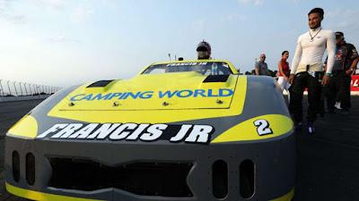 Ernie Francis, Jr. Survives Late-Race Fireworks to Win SRX
