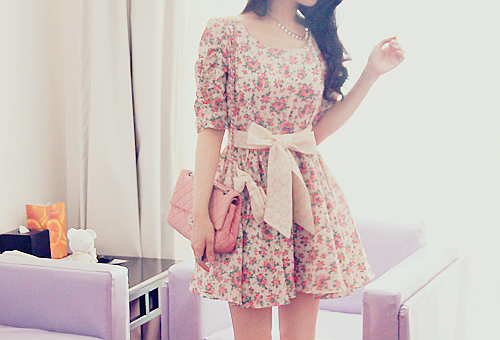 girly cute fashion dress dresses looks vestidos outfits girl clothes pretty vintage lindos sweet retro outfit moda kawaii style floral