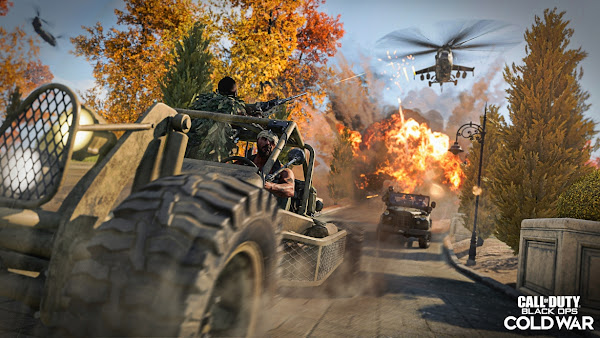 《決勝時刻:黑色行動冷戰》與《現代戰域》第二季加推全新多人遊戲地圖、模式及疫情爆發內容