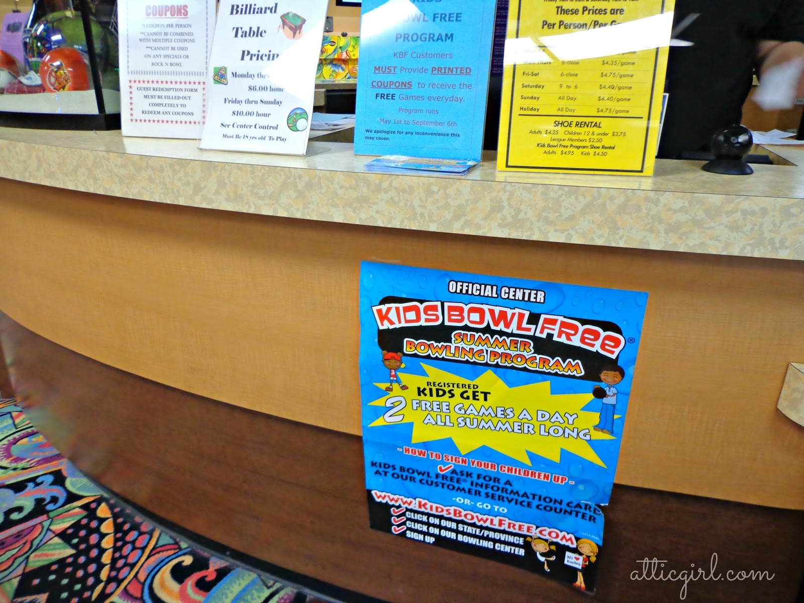 Kids Bowl Free Summer program, summer activities for kids, freebies