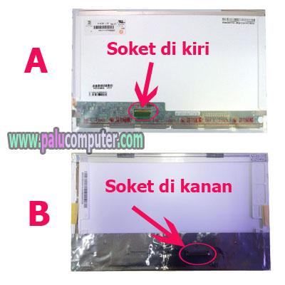 lcd socket kiri socket kanan