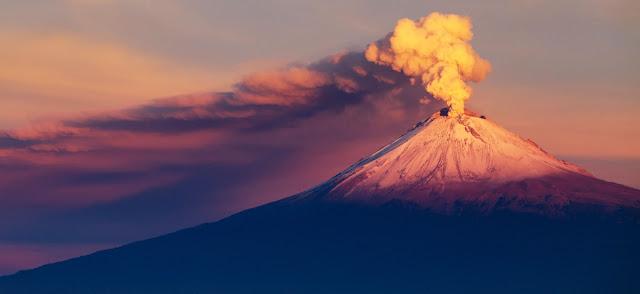 Volcan en Mexico