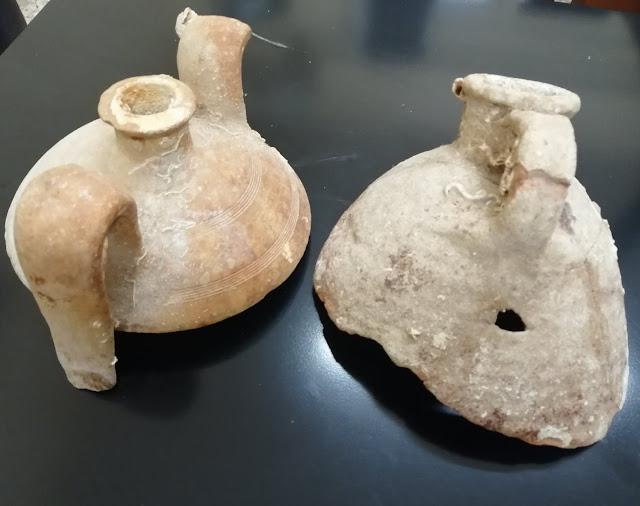 Δυο συλλήψεις στο Γύθειο για αρχαιοκαπηλία και εκρηκτικά