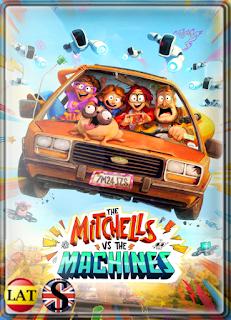 La Familia Mitchell vs. las Máquinas (2021) WEB-DL 1080P LATINO/ESPAÑOL/INGLES