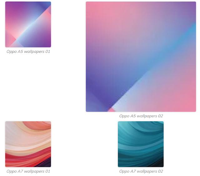 Download Wallpaper  Oppo A5 dan Oppo A7  2