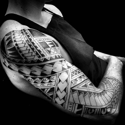 maori tribal dövmeler tattoos 17