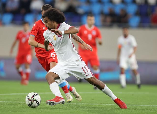 ملخص اهداف مباراة قطر ولوكسمبورج (1-1) الودية