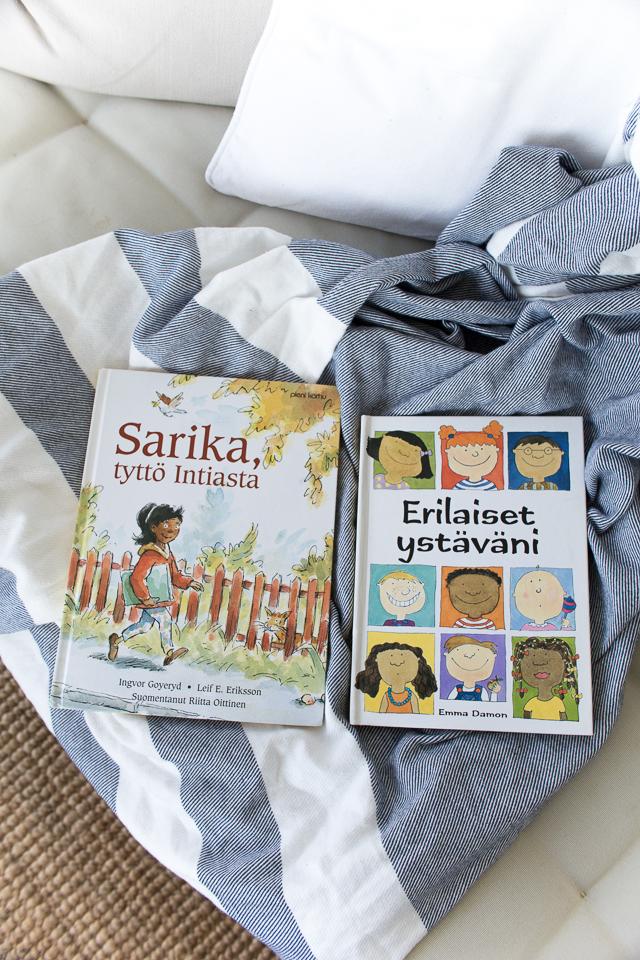 Villa H, Sarika, tyttö Intiasta, Erilaiset ystäväni, kirjasuositus