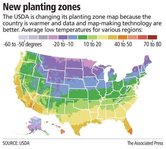 Two Men And A Little Farm: NEW 2012 USDA HARDINESS ZONE MAP