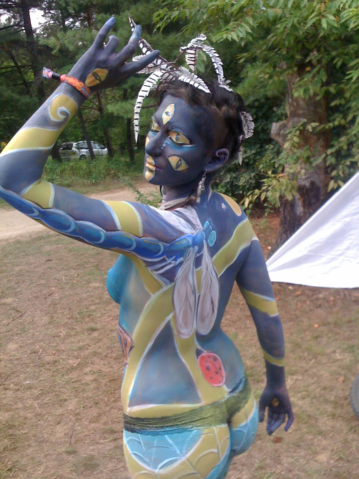 Elissa Baltzer's Faery Fire: Face and Body Painting