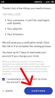✓ Cara Hapus Akun Spotify di Android