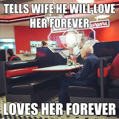 funny memes about love with old man