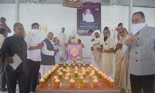 श्री मोहनखेड़ा महातीर्थ में आचार्य रवीन्द्रसूरीष्वरजी का 67 वां जन्मोत्सव मनाया