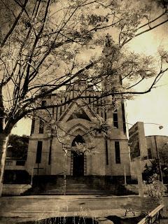 Fachada da Igreja Matriz São João Batista, em Marcelino Ramos
