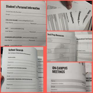 The College Bound Organizer collage 1