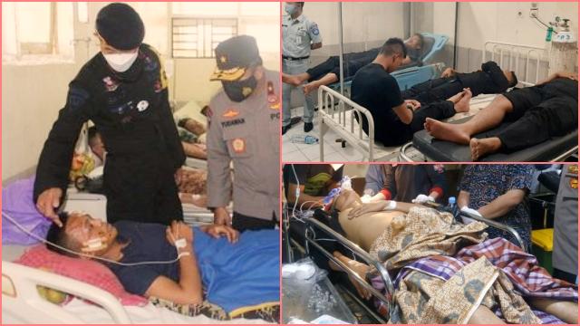 Bus Terguling, 35 Personel Brimob Sumsel Masih Dirawat Intensif di RSU Jambi