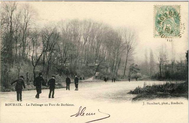 Le parc barbieux dit le beau jardin sports d 39 hiver au for Beau jardin en hiver