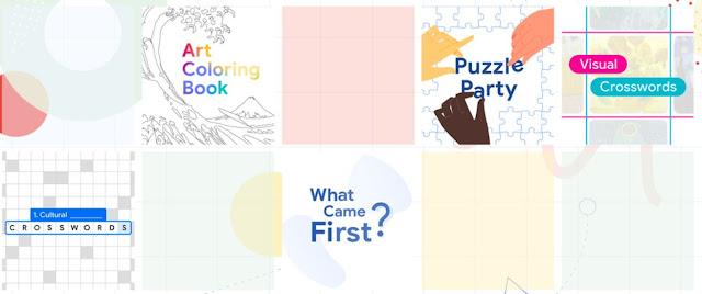 "Google Arts & Culture apresenta colecção de jogos interactivos ""Play with Arts & Culture"""
