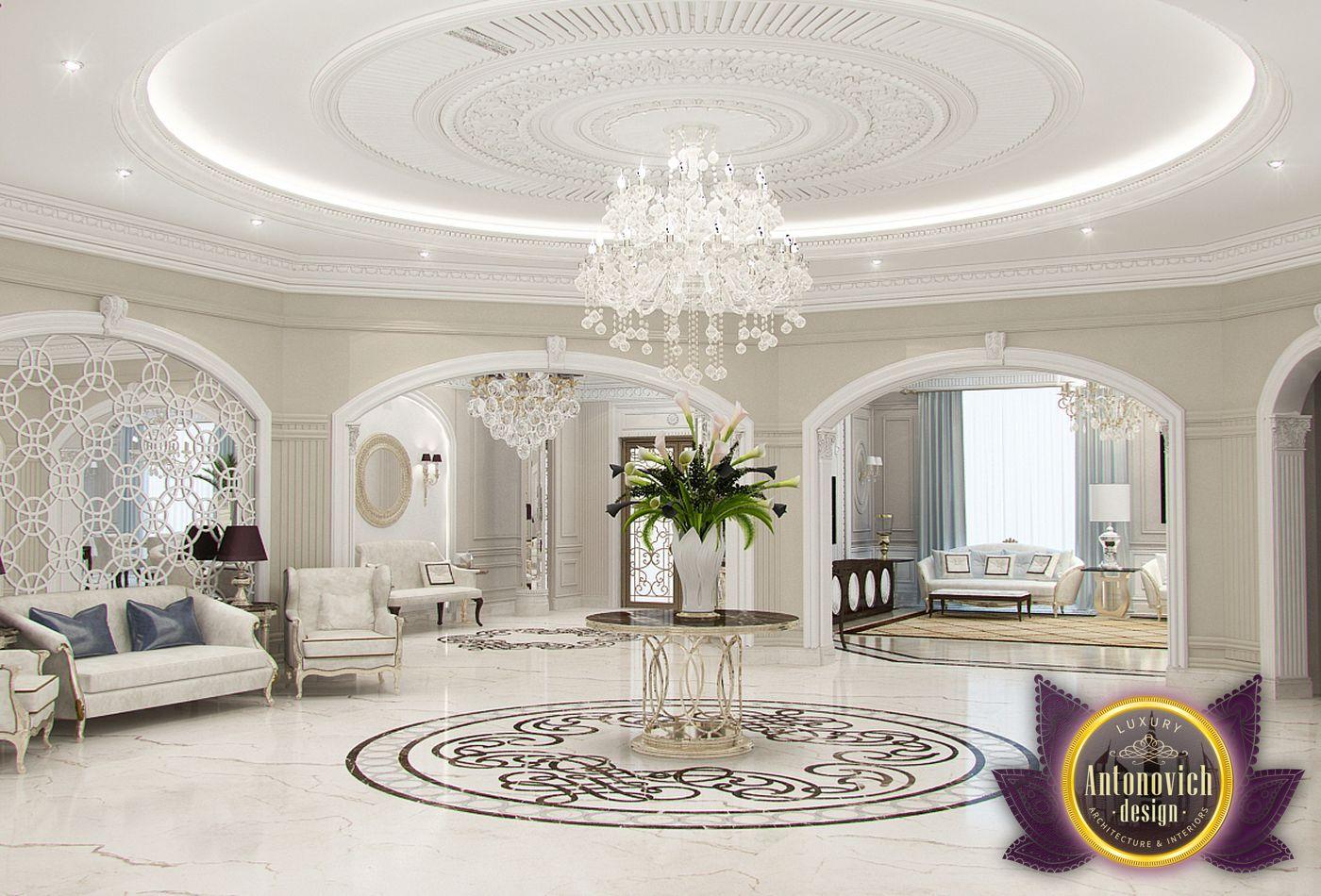Foyer Decor Uae : Luxury antonovich design uae Дизайн виллы от Екатерины