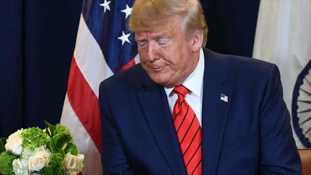 "Trump tacha de salvajes a demócratas que buscan su ""impeachment"""